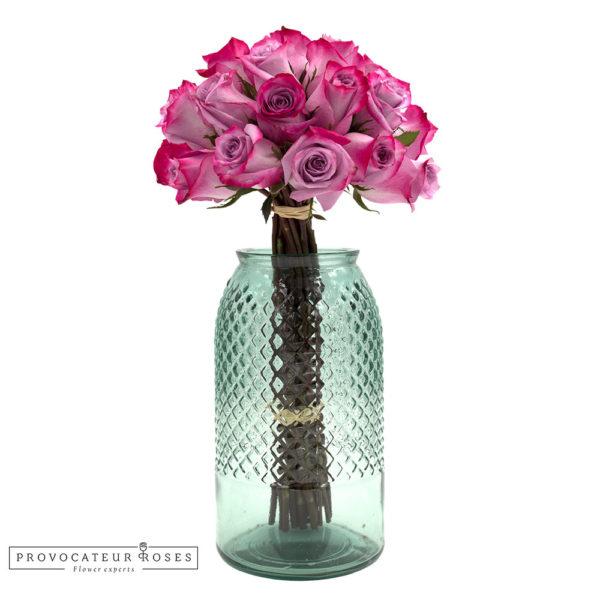 Ramo de rosas deep purple